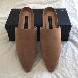 952c89b878e Steven By Steve Madden Shoes - NEW Steve Madden Varner Sand Tan Suede Slide  Mules